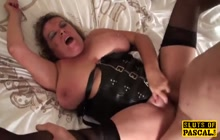BBW slut is cock hungry mature