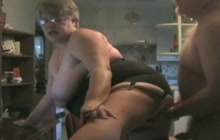 Amateur old couple fucking