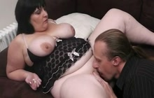 BBW picked up and fucked
