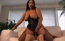 Anal with big ass maid Latisha