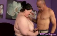 Big tit fatty banged! extremely rough