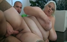 Boy calls BBW mature whore