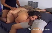 Great Foursome With Asian Bitch