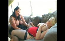 Hot dyke BBW action