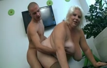 BBW mature with younger boy