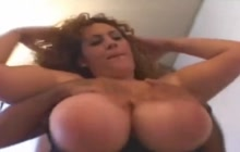 Pretty BBW Latina having sex with two men
