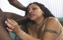 Thick black cock for a thick Latina bitch