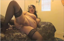 Sexy BBW live webcam masturbating